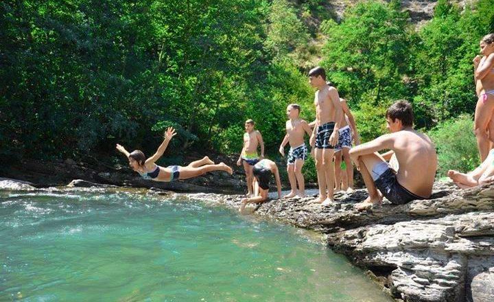 Judo & Avventura: Bagno al fiume