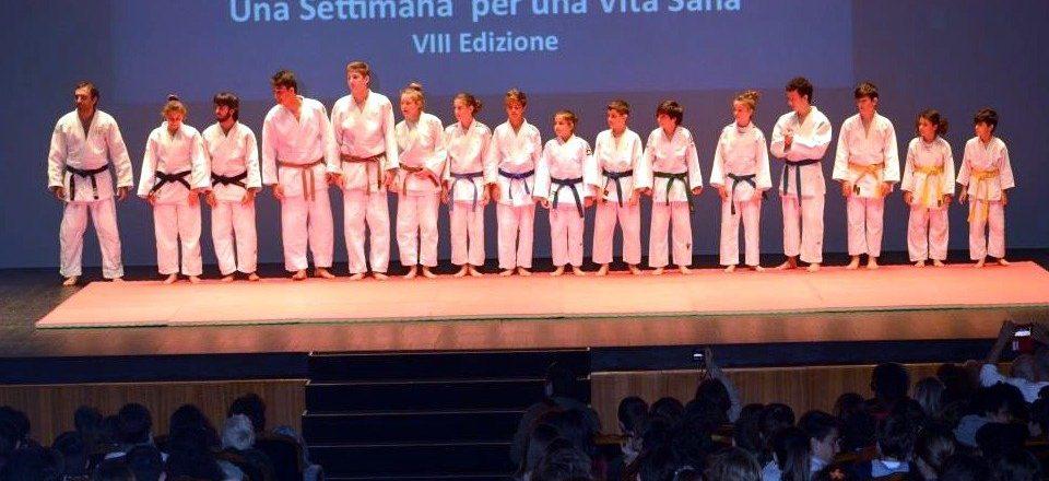 Judo show Arena del Sole 2016