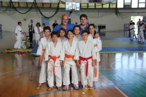 La squadra del Budokan all'Atri CUP